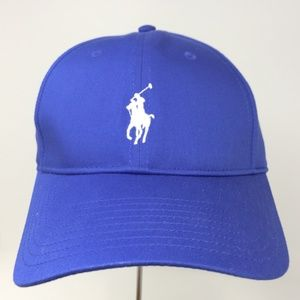 Polo Ralph Lauren Blue Baseball Cap